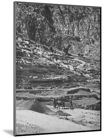 'Place of the famous Oracle, Delphi', 1913-Unknown-Mounted Photographic Print