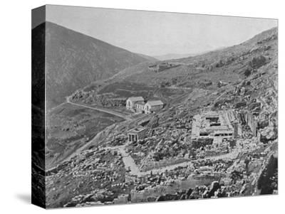 'Delphi - Gulf of Corinth in the distance', 1913-Unknown-Stretched Canvas Print