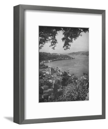 'The Bosphorous - Constantinople in the distance', 1913-Unknown-Framed Photographic Print
