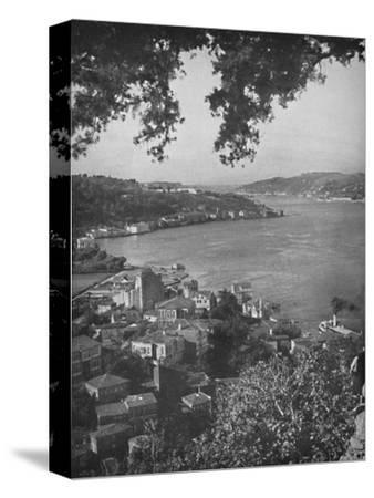 'The Bosphorous - Constantinople in the distance', 1913-Unknown-Stretched Canvas Print