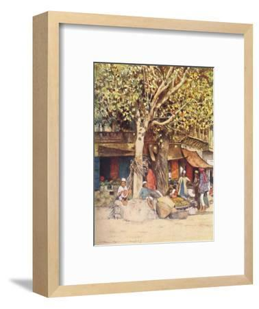 'Mid-Day, Delhi', 1905-Mortimer Luddington Menpes-Framed Giclee Print