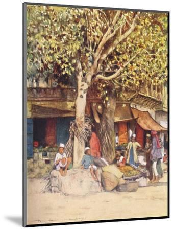 'Mid-Day, Delhi', 1905-Mortimer Luddington Menpes-Mounted Giclee Print
