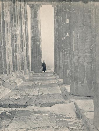 'In the Portico of the Parthenon', 1913-Unknown-Framed Giclee Print