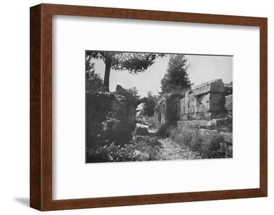 'Olympia - Entrance to the Athletic Field', 1913-Unknown-Framed Photographic Print