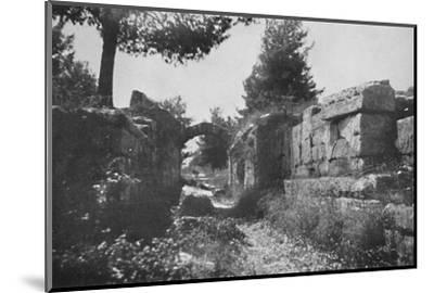 'Olympia - Entrance to the Athletic Field', 1913-Unknown-Mounted Photographic Print
