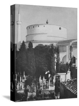 St. George's Greek Church, now a mosque, Constantinople', 1913-Unknown-Stretched Canvas Print