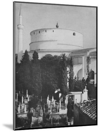 St. George's Greek Church, now a mosque, Constantinople', 1913-Unknown-Mounted Photographic Print