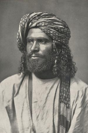 'Ceylonesischer Muhammedaner', 1926-Unknown-Framed Photographic Print