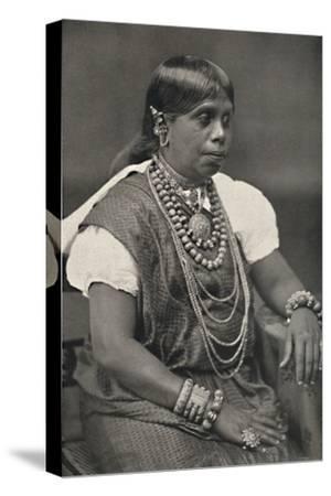 'Vornehme Singhalesin aus Kandy', 1926-Unknown-Stretched Canvas Print