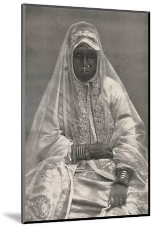 'Muhammedanerin', 1926-Unknown-Mounted Photographic Print
