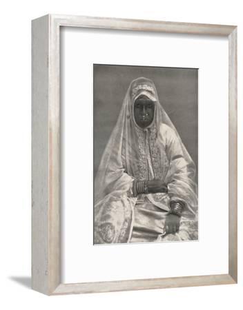 'Muhammedanerin', 1926-Unknown-Framed Photographic Print