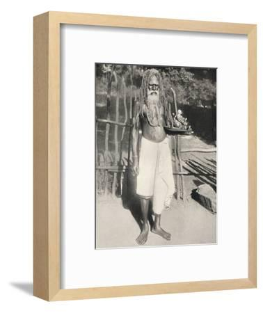 'Hindu-Busser (Asket)', 1926-Unknown-Framed Photographic Print