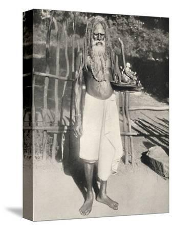 'Hindu-Busser (Asket)', 1926-Unknown-Stretched Canvas Print