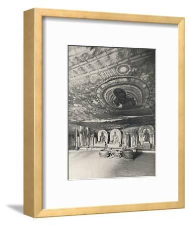 'Aus den Felsentempeln von Dambulla', 1926-Unknown-Framed Photographic Print