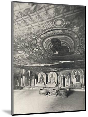 'Aus den Felsentempeln von Dambulla', 1926-Unknown-Mounted Photographic Print