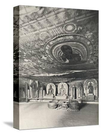 'Aus den Felsentempeln von Dambulla', 1926-Unknown-Stretched Canvas Print