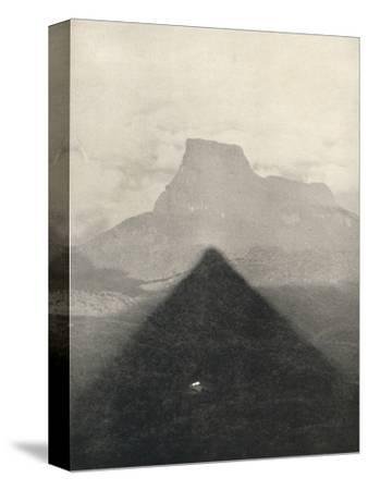 'Schatten des Adamspik bei Sonnenaufgang', 1926-Unknown-Stretched Canvas Print