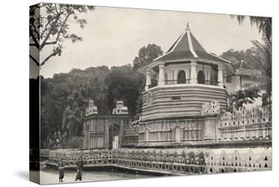 Der Tempel des Hiligen Zahnes Buddhas in Kandy-Unknown-Stretched Canvas Print