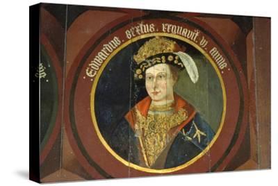 King Edward VI, (1537-1553), circa mid 16th century-Unknown-Stretched Canvas Print