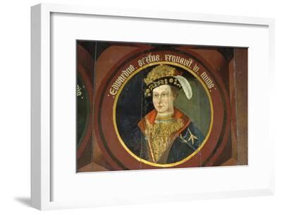 King Edward VI, (1537-1553), circa mid 16th century-Unknown-Framed Giclee Print