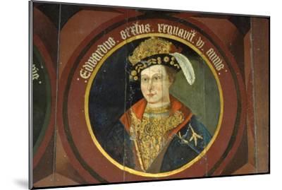 King Edward VI, (1537-1553), circa mid 16th century-Unknown-Mounted Giclee Print