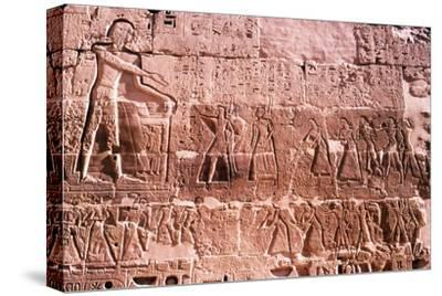 Mortuary Temple of Rameses III at Medianat Habu, Luxor, Egypt, 12th Century BC-Unknown-Stretched Canvas Print