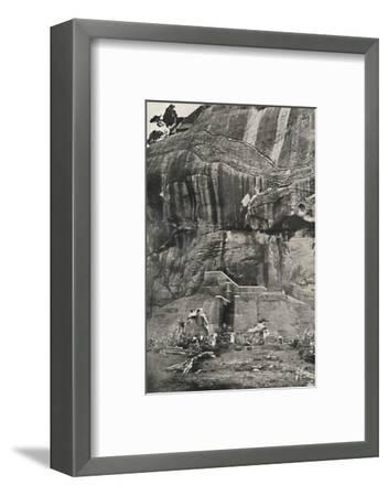 Sigiri, Aufstiegseite im Norden-Unknown-Framed Photographic Print