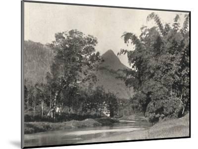 'Adamspik von Gegend Maskeliya', 1926-Unknown-Mounted Photographic Print