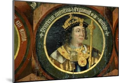 King Henry V of England, (1387-1422), circa mid 16th century-Unknown-Mounted Giclee Print