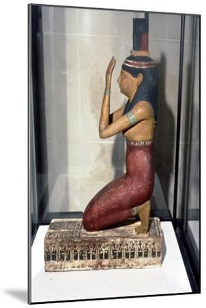 Statuette of supplicant kneeling-Unknown-Mounted Giclee Print
