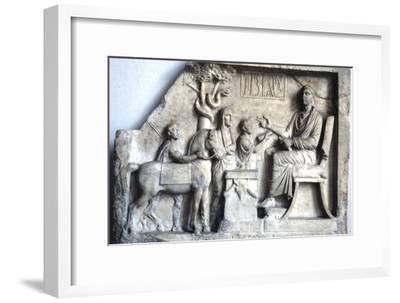 Asklepios, Greek God of Medicine of Healing, c6th century BC-Unknown-Framed Giclee Print
