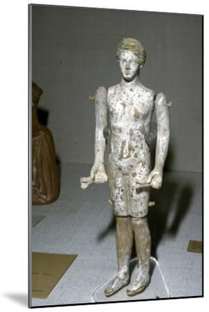 Greek Terracotta Figure, c620BC-c300BC-Unknown-Mounted Giclee Print