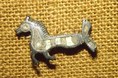 Roman jewellery detail Horse, Alesia, c1st century-Unknown-Framed Giclee Print
