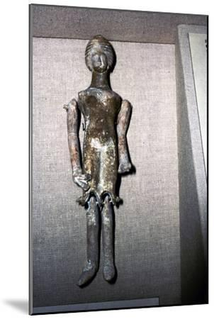 Terracotta Corinth Doll, 350 BC-Unknown-Mounted Giclee Print