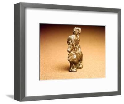 Celtic Bronze Three-Horned bull with Bust of two Goddesses, c1st century-Unknown-Framed Giclee Print