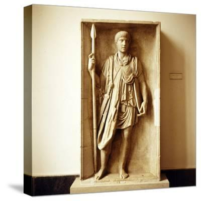 Roman Auxilliary Soldier, Imperial Period, c30 BC to c470-Unknown-Stretched Canvas Print