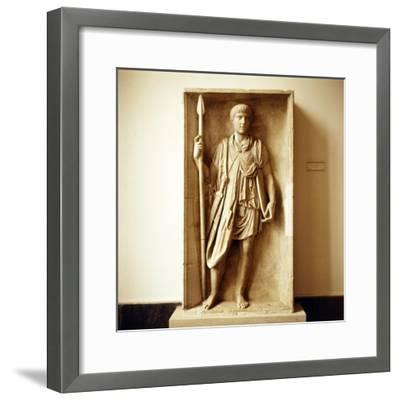 Roman Auxilliary Soldier, Imperial Period, c30 BC to c470-Unknown-Framed Giclee Print