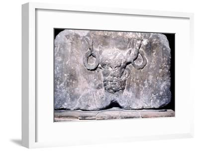 Cernunnos, the Celtic Horned God from the Pillar of the Boatmen of Paris, AD14-37-Unknown-Framed Giclee Print