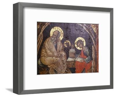 St John dictating to Prochorus, 17th Century-Unknown-Framed Giclee Print