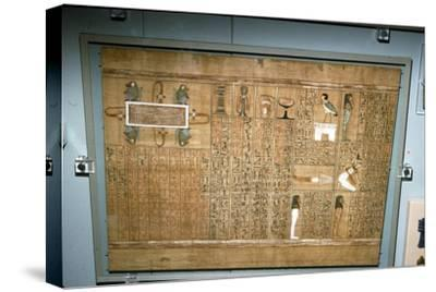 Papyrus of Ani, c1250 BC-Unknown-Stretched Canvas Print
