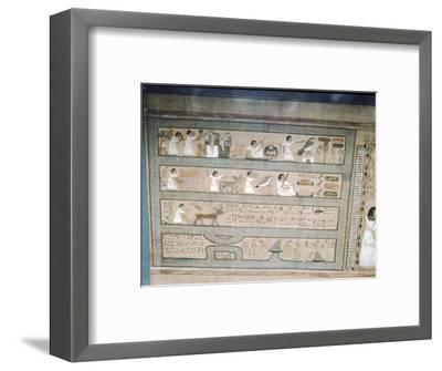Papyrus of Ani, c1250 BC-Unknown-Framed Giclee Print