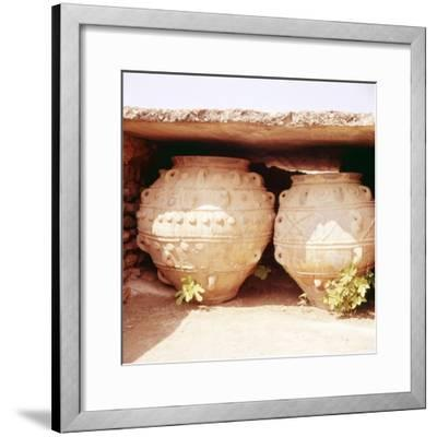 Minoan Kamares Style jug, c2000 BC-Unknown-Framed Giclee Print