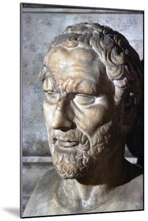 Demosthenes. Greek Orator & Statesman, 384-322 BC-Unknown-Mounted Giclee Print