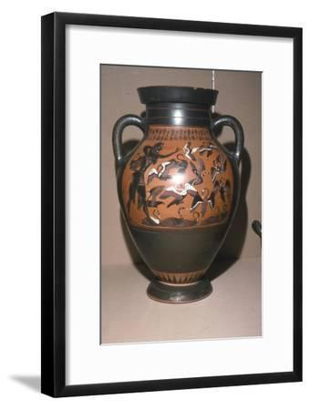 Herakles and Stymphalian Birds, Labours of Heracles, c500 BC-Unknown-Framed Giclee Print