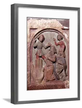 'Honour your Mother and Father', The Ten Commandments, c20th century-Unknown-Framed Giclee Print