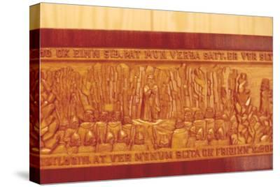 Meeting of the Thing (Iceland's Democratic Parliament) in AD1000-Unknown-Stretched Canvas Print