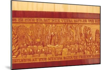 Meeting of the Thing (Iceland's Democratic Parliament) in AD1000-Unknown-Mounted Giclee Print