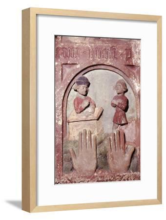 'Do not covet your neighbours house', The Ten Commandments, c20th century-Unknown-Framed Giclee Print