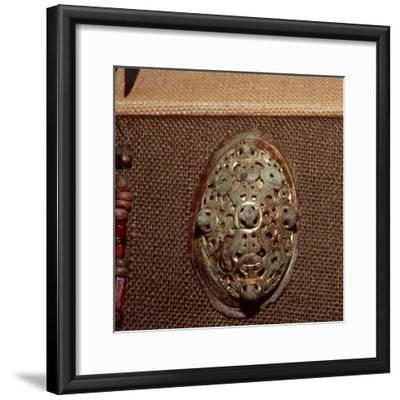 Tortoise Brooch from a Viking Grave in Norway c10th-11th century-Unknown-Framed Giclee Print