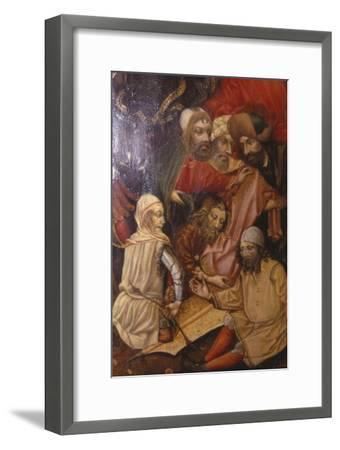 Detail of Crucifixion, Frankfurt, West Germany, 1430-Unknown-Framed Giclee Print